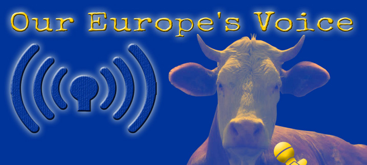 Titel Our Europe's Voice